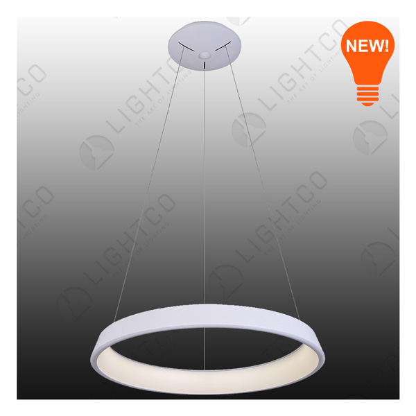 PENDANT LED SINGLE RING LARGE 2380LUMENS