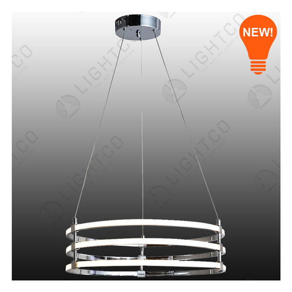 PENDANT LED 3 TIER ROUND