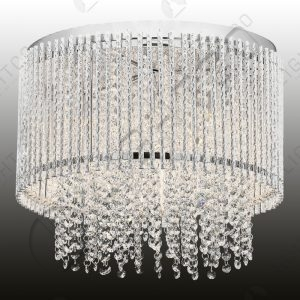 CEILING LIGHT CRYSTAL DROPLETS