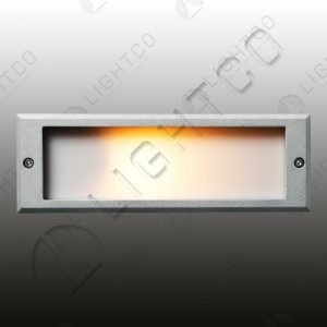 BRICK LIGHT RECESSED PLAIN