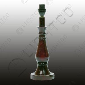 TABLE LAMP RESIN DARK