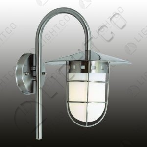 LANTERN DOWN FACING WITH WHITE PERSPEX COVER
