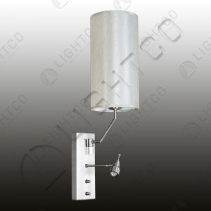 WALL LIGHT CYLINDER SHADE + FLEXI LED