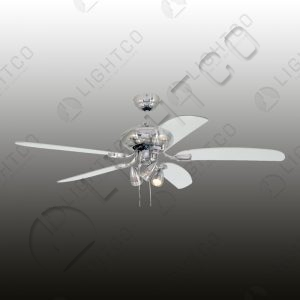 FAN 5 BLADE WITH 3 LIGHT SPOT AND REMOTE