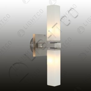 WALL LIGHT DOUBLE GLASS SQUARE