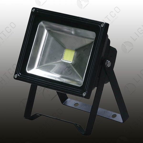LED FLOOD CLEAR GLASS 10W PORTABLE