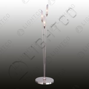 TABLE LAMP WITH THIN TUBE GLASS
