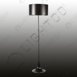 FLOOR LAMP BLACK SHADE