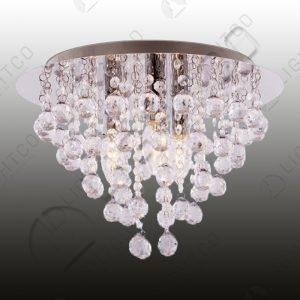 CEILING LIGHT ACRYLIC CRYSTAL DRAPE