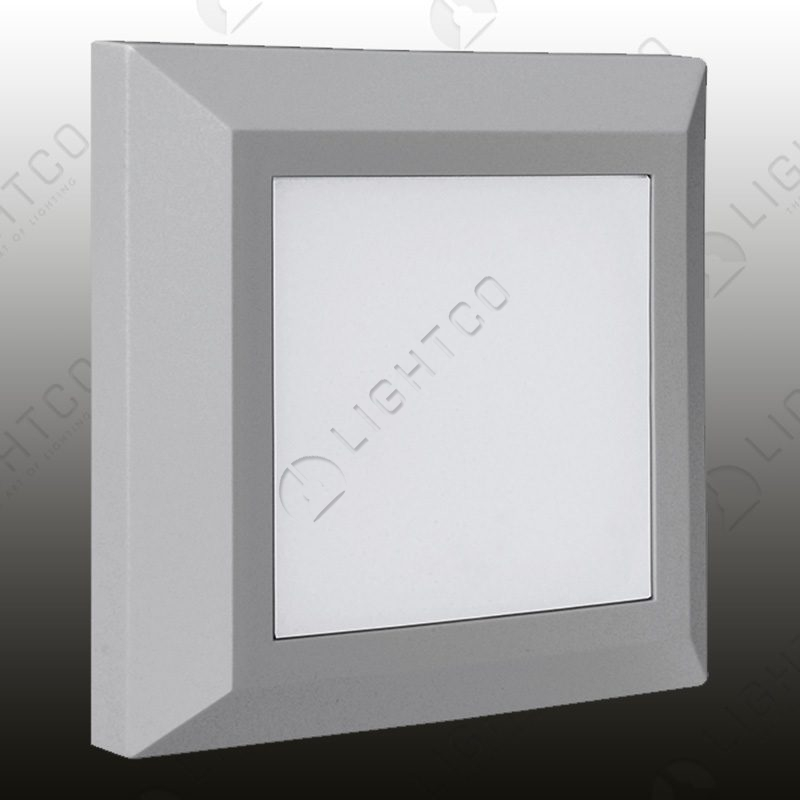 FOOT LIGHT SURFACE SQUARE PLAIN INCL DRIVER