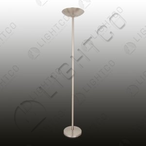 FLOOR LAMP WITH FOOT DIMMER