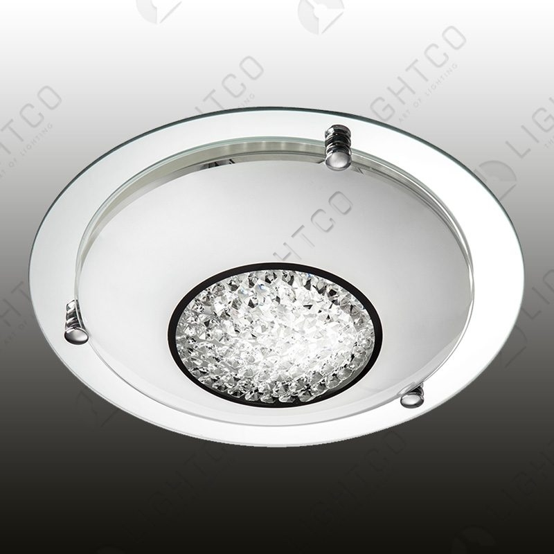 CEILING LIGHT ROUND CRYSTAL SMALL