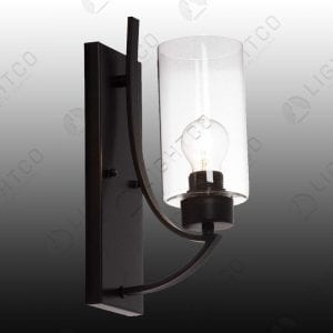 WALL LIGHT CYLINDER GLASS