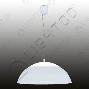 PENDANT DOME WITH FITTED LED ON 3 SETTINGS