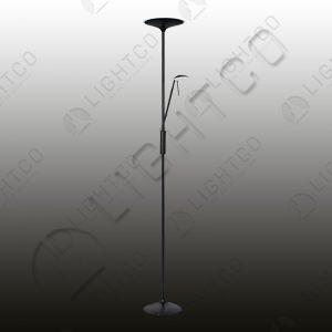 FLOOR LAMP LED AND SPOT C/W DIMMER