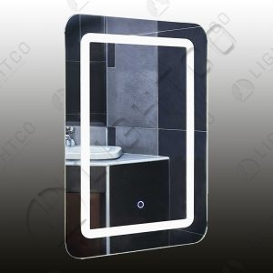 MIRROR LIGHT RECTANGULAR WITH TOUCH SWITCH