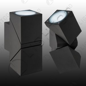 WALL LIGHT UP AND DOWN ADJUSTABLE HEADS SQUARE