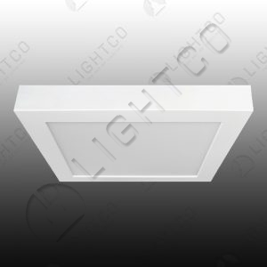 DOWNLIGHT LED SURFACE FIXED SQUARE 18W WARM WHITE