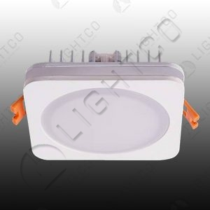 DOWNLIGHT 5W LED BATHROOM SQUARE