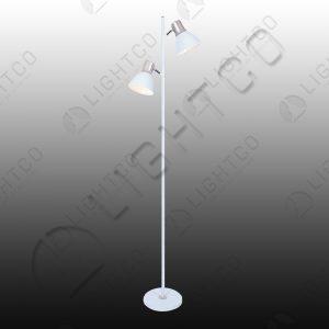 FLOOR LAMP DOUBLE SPOTLIGHT ADJUSTABLE