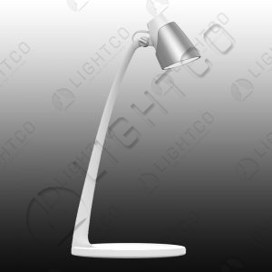 DESK LAMP WITH PLASTIC ARM