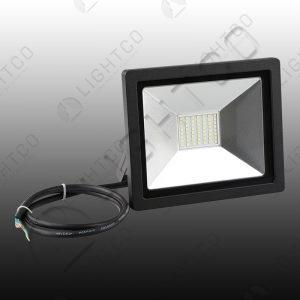 LED FLOOD NANO 30W C/WHT 6000K
