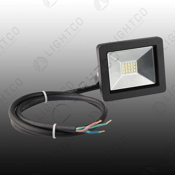 LED FLOOD NANO 10W C/WHT 6000K