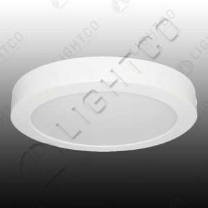DOWNLIGHT LED SURFACE FIXED ROUND 18W WARM WHITE
