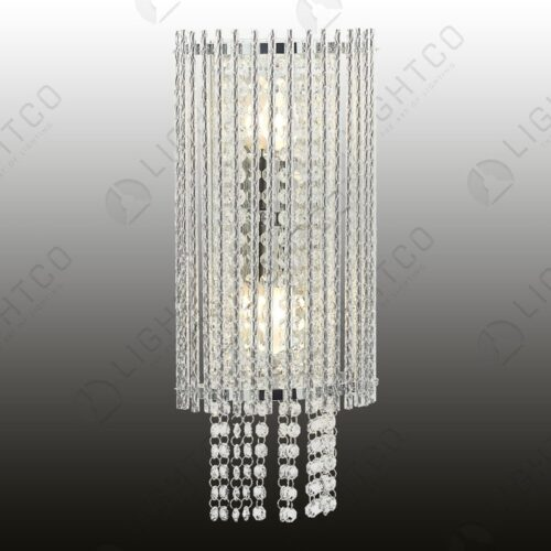 WALL LIGHT CRYSTAL CHIMES