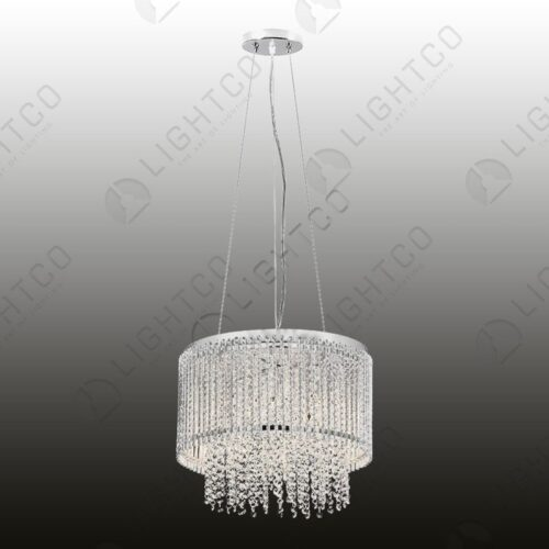 PENDANT LIGHT WITH CRYSTAL DROPLETS