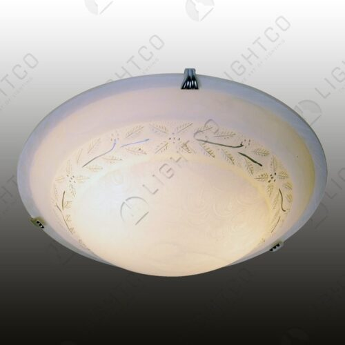 CEILING LIGHT LARGE WITH FINE LEAF DETAIL
