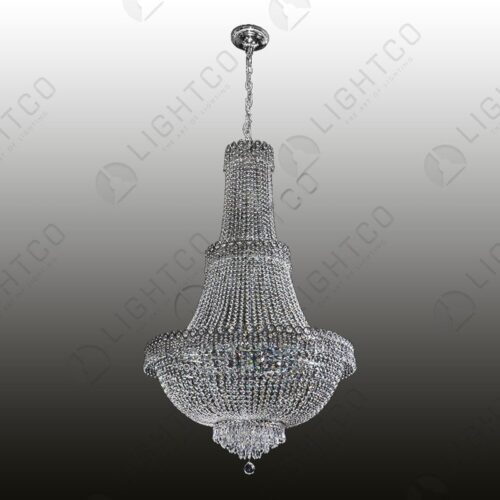 CHANDELIER BASKET DRAPE CRYSTAL