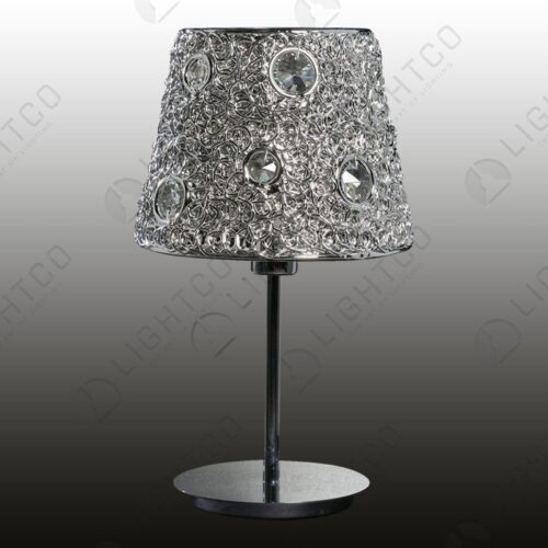 TABLE LAMP ACRYLIC AND SHADE