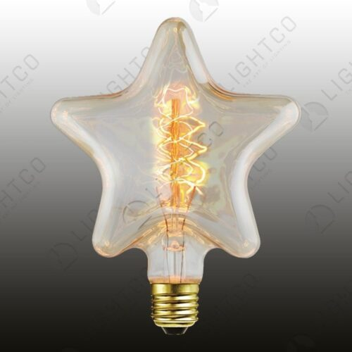 FILAMENT LAMP 40W ES STAR SPIRAL