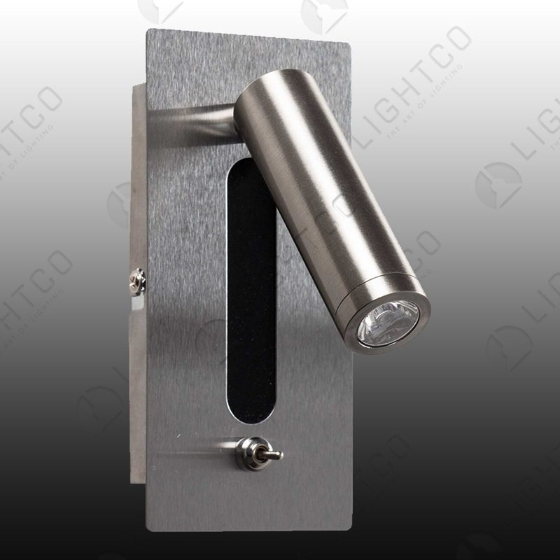 WALL LIGHT SWIVEL AND TILT WITH ON OFF SWITCH