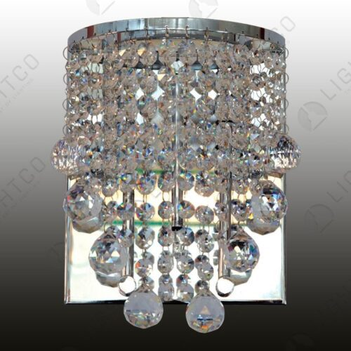 WALL LIGHT ASFOUR CRYSTAL