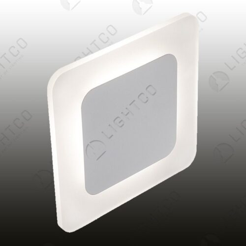 WALL LIGHT LED SQUARE ACRYLIC