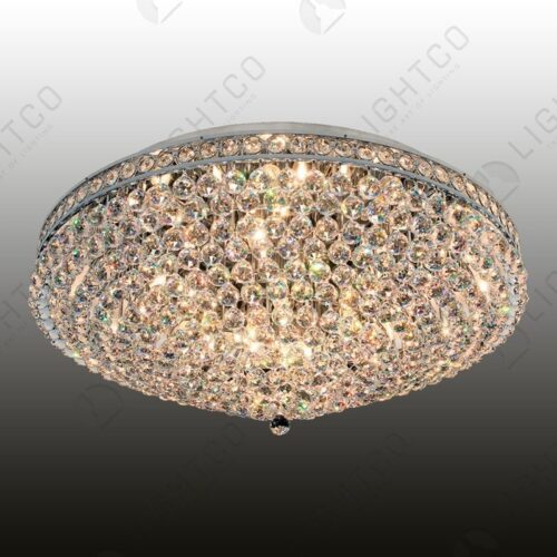 CEILING LIGHT LARGE ASFOUR CRYSTAL