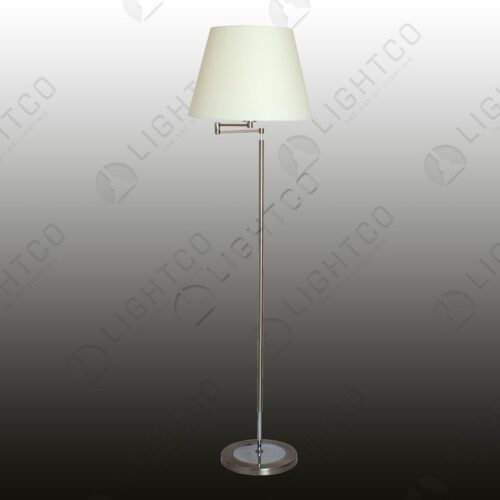 FLOOR LAMP EXTENDABLE ARM AND SHADE