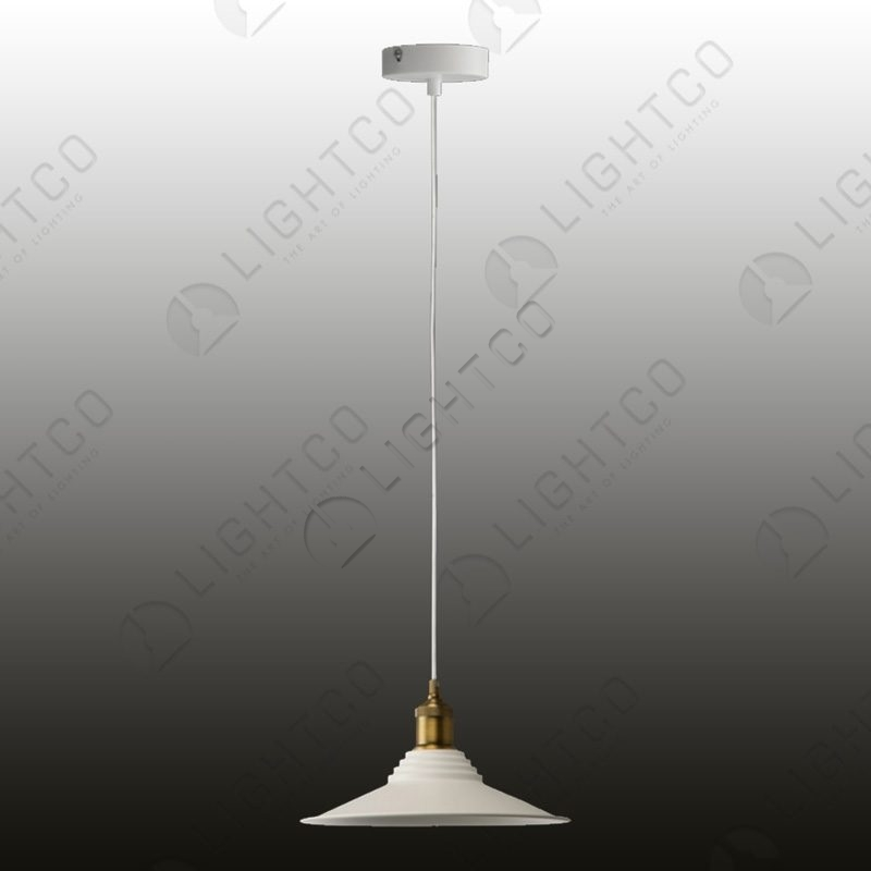PENDANT WIDE SHADE ON CORD