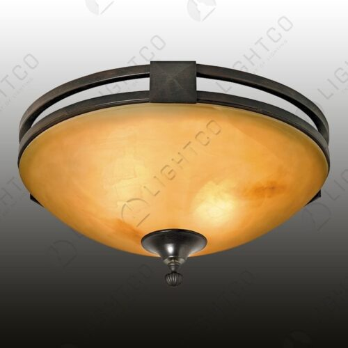CEILING LIGHT WROUGHT IRON