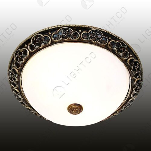 CEILING LIGHT RESIN ALABASTER GLASS