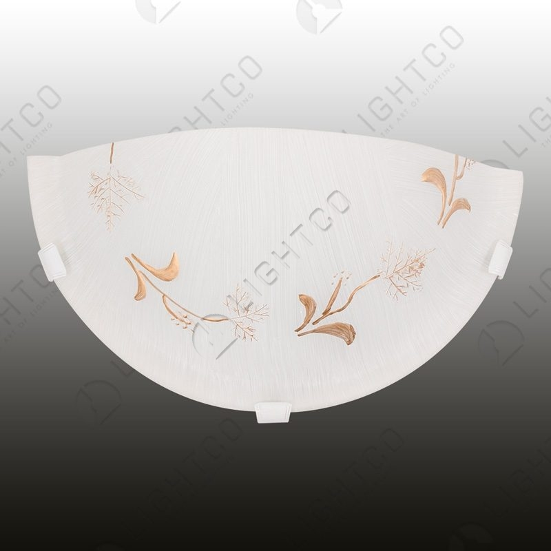 WALL LIGHT WITH TREE PATTERN