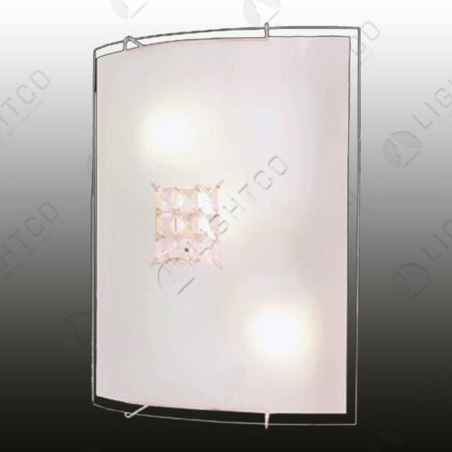 CEILING LIGHT CRYSTAL SQUARE SMALL