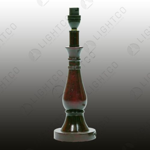 TABLE LAMP RESIN DARK