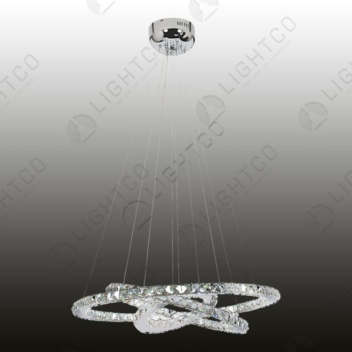 PENDANT 3 RINGS WITH REMOTE CONTROL