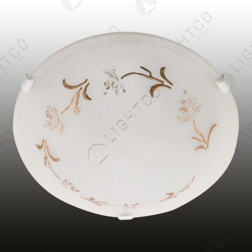 CEILING FITTING WITH LARGE TREE PATTERN