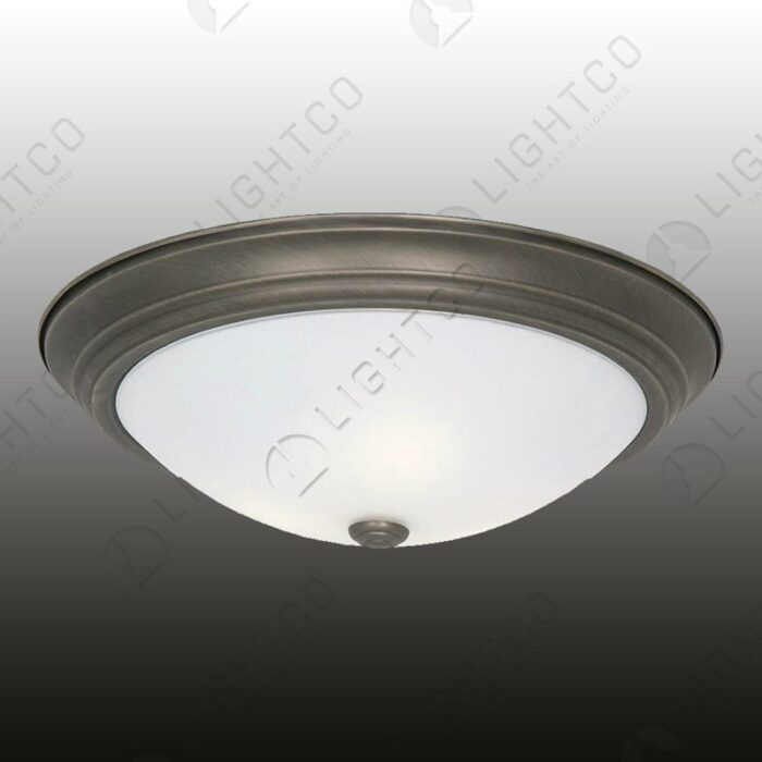 CEILING LIGHT FROSTED GLASS LARGE