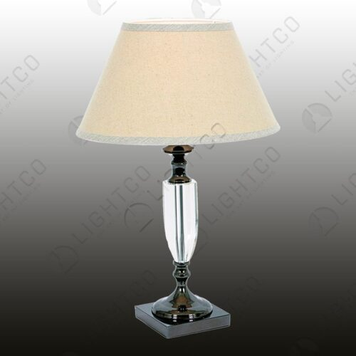 TABLE LAMP SQUARE BASE + ACRYLIC SHADE