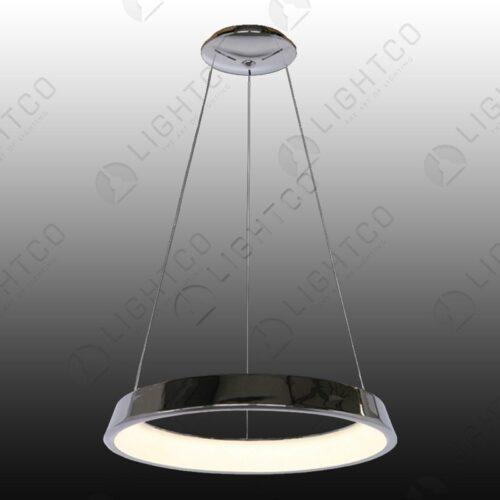 PENDANT ROUND LED RING WHITE